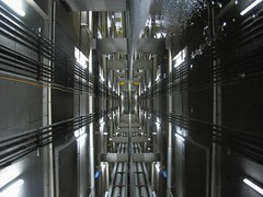 X (Lord Jezzer) Tags: light reflection water underground puddle lights garage x target creattivit notthestore bestcapturesaoi tripleniceshot