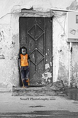 """    ""[EXPLORED] ( Anoud Abdullah AlHabib) Tags: life street orange white black color canon eos aloud 500d noudy