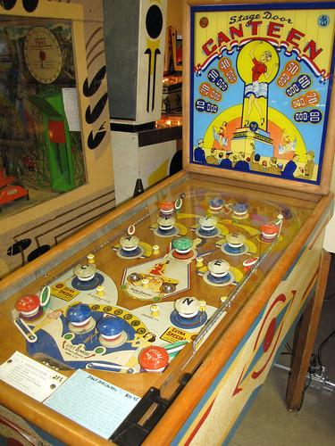 Stage Door Canteen Pinball