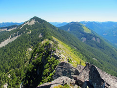 Mt. Defiance from Putrid Pete's Peak