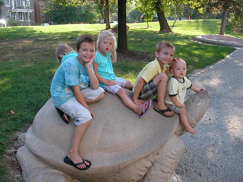 July 31 2010 Zoo Clark Haley Shanna Cal Elden