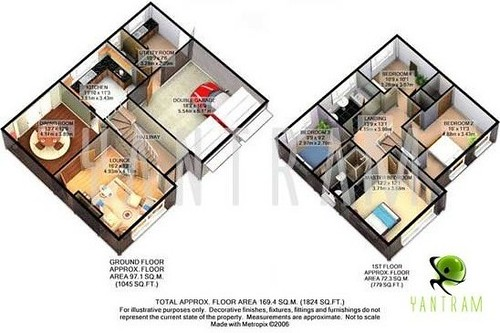 3D VIRTUAL HOUSE FLOOR PLANS HOUSE FLOOR PLANS 3D VIRTUAL