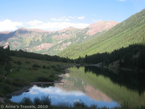 Maroon Lake, Maroon Bells Wilderness, White River National Forest, Colorado