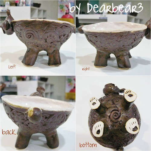MY 1ST CERAMIC BOWL^^