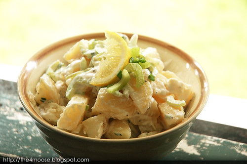 National Day Luncheon - Lemony Potato Salad