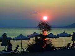 Parasol (++Rob++) Tags: sunset zonsondergang greece griekenland pilion  afissos