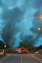Dickinson's Fire from Moss Lane