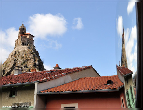 Saint-Michel d'Aiguilhe in Aiguilhe, near Le Puy-en-Velay. Photo: Fred Nach