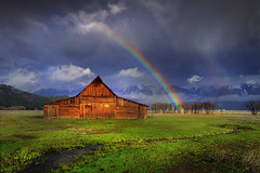 Grand Teton National Park - Moulton Barn (kevin mcneal) Tags: bravo searchthebest wyoming grandtetonnationalpark moultonbarn
