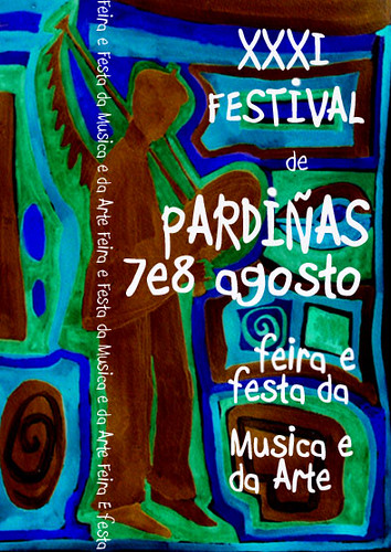 Festival de Pardiñas 2010 - 31ª edición - agosto - cartel de Rita Galeotte