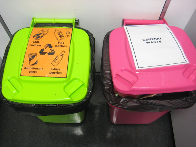 MCA Kitchen, bins