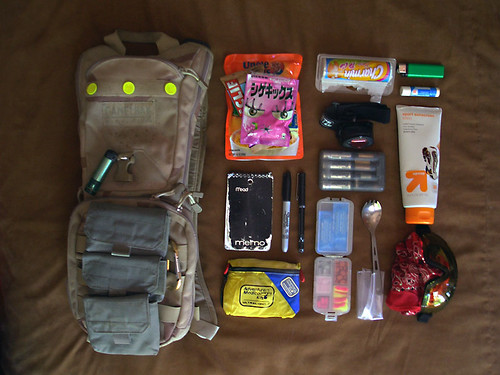Burning Man Daily Bag v.2