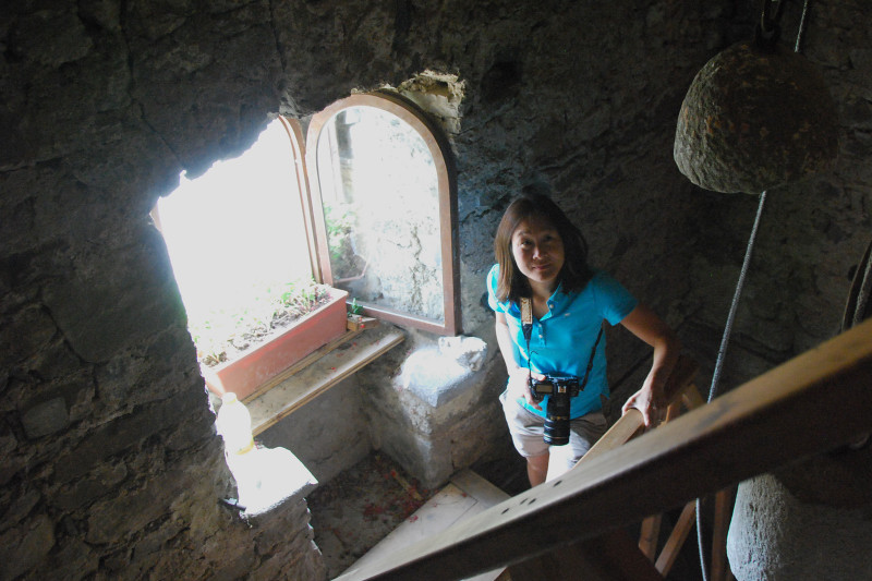 Heading Up The Bell Tower