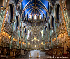 The Sanctuary, Notre Dame Cathedral Basilica, Ottawa (Jeff L.2007 (Laverton Images)) Tags: panorama ontario canada pano ottawa notredame stitched sanctuary romancatholic panoramicimage canonefs1755f28isusm ©lavertonimages microsoftice oldestchurchinottawa
