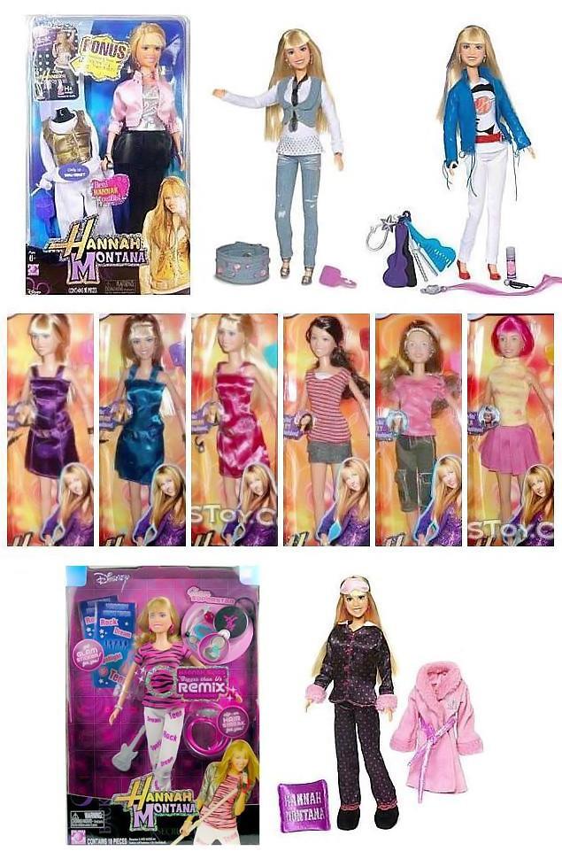 Hannah Montana Wal-Mart Exclusive Dolls