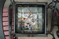 Mülleimerreflektionen