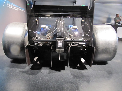 Lotus Exos T125 Rear Wing + Diffuser