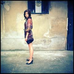 Just Summer IV (__Daniele__) Tags: portrait color 6x6 girl square fuji dia hasselblad 100 provia 500cm reversal