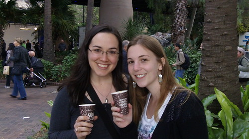 Me & Brooke at Sydney's Aroma Festival