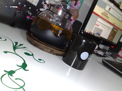 Depois do virado, chá de pipoca!