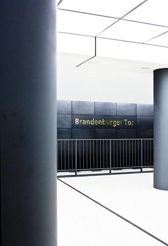 Brandenburger Tor Ubahn