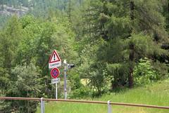 Lawinengefahr (KOKONIS) Tags: travel sign schweiz switzerland nikon europa europe wallis valais avalanche d80 lawinen mrgniqq