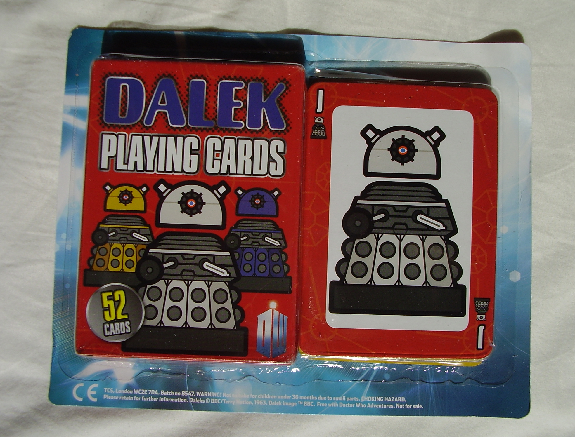 Dalek Playing Cards