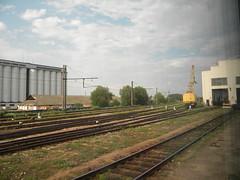 Brest, Belarus (Timon91) Tags: train border railway brest belarus trainamsterdammoscow
