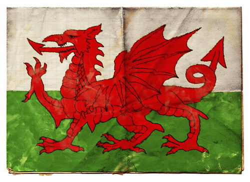 Draig Goch - Welsh flag