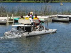 water kids fun boat michigan boating paddleboat lifejacket lifepreserver summercamp specialneeds nonprofit clarkston clarkstonscamp