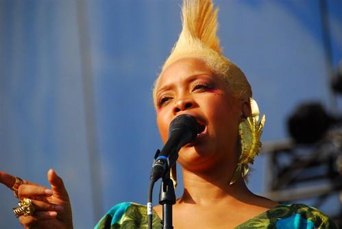 Erykah Badu at Lollapalooza