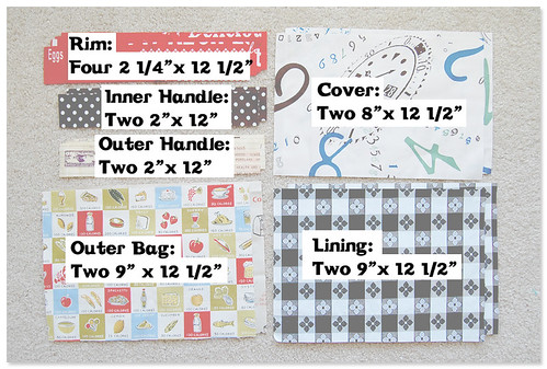 Fabric Lunch Bag Tutorial