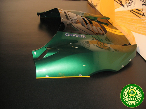 Evora GT4 Cup rear bodywork
