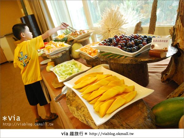 【新竹旅館】關西六福莊生態渡假旅館~餐食篇16