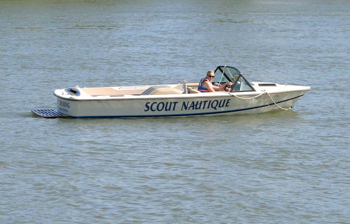 Monica Ski Boat