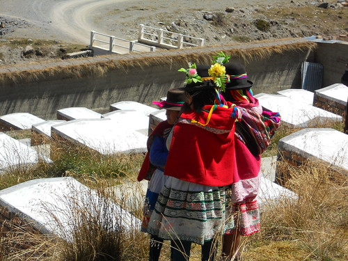 Girls in Putis Cemetery