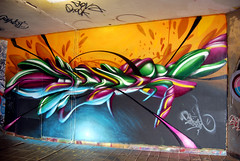 my piece (mrzero) Tags: effects graffiti 3d hungary eger style colored cfs mrzero