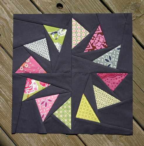 Circle of Geese Block for Kelly