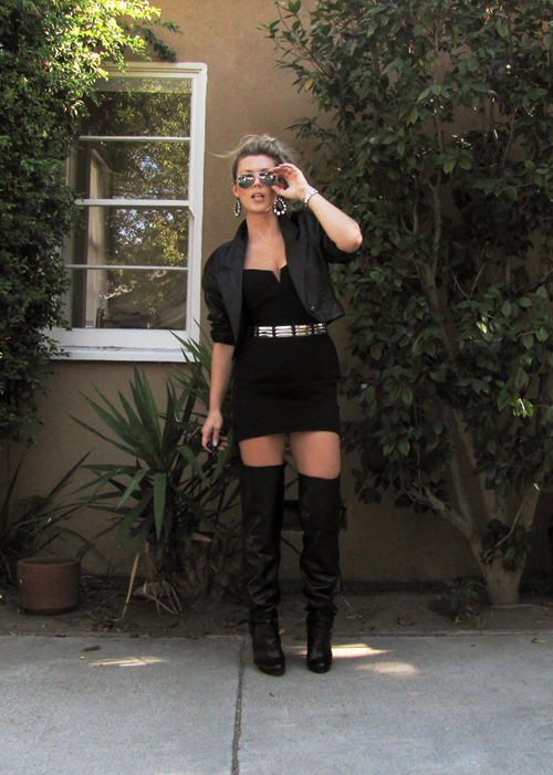 Diy Leather Over The Knee Boot Spats Love Maegan