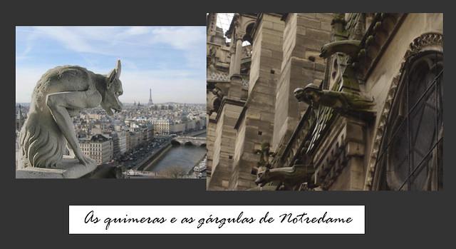 Quimeras e Gárgulas Notredame