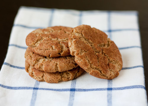 Almond-Butter Snickerdoodles