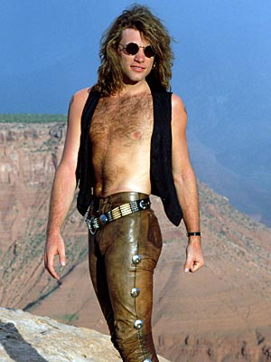 jon bon jovi in some really tight pants