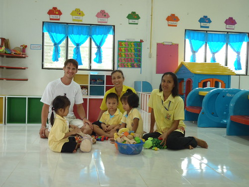 learning together in Thailand