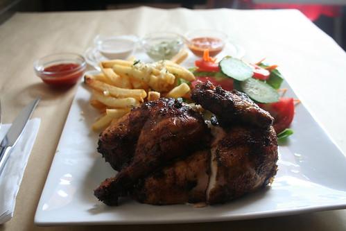2010-08-14 - Shanghai - Brasa Chicken - 02 - Half combo