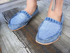 Class: DIY Footwear using recycled jeans