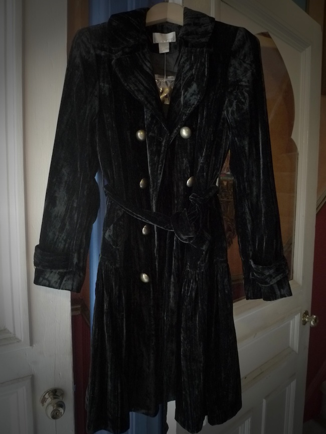 pretty and colorful competitive price shop for original SHOP - Where Did U Get That: SOLD!!!!! Black velvet trench ...