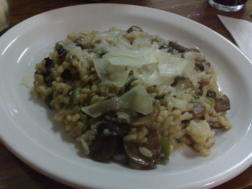 porcini mushroom risotto - special