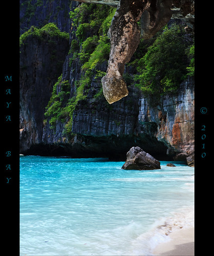 Maya Bay-the beach.