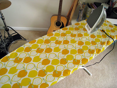 ironing board cover!