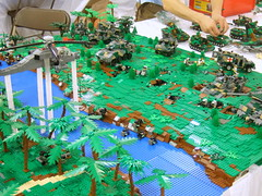 Nordic invasion! (Aleksander Stein) Tags: infantry army us lego display military battle scifi collaborative armour nato 2010 ndc cbu nbr brickfair